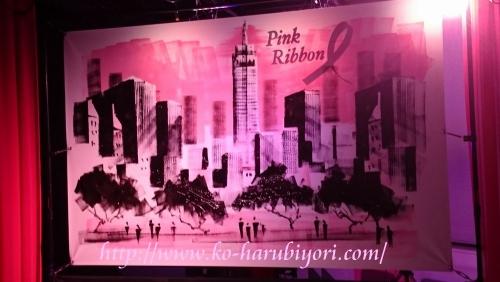 20151001ピンクリボン●有名ローラー ペイント アーティストTakeshi Sato氏によるライブペイントパフォーマンス
