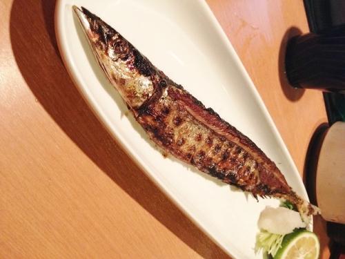 炭火で焼き魚あれこれ