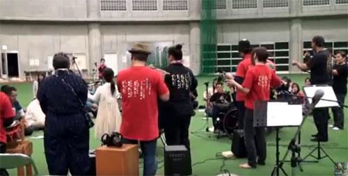 呼夢三線広め隊 具志川ドーム