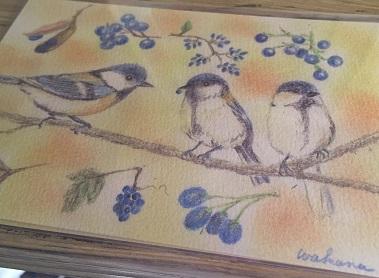 小鳥ポストカード