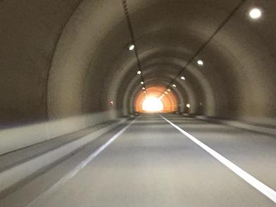 国道488雲出トンネル