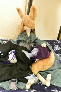 葵とキナコ
