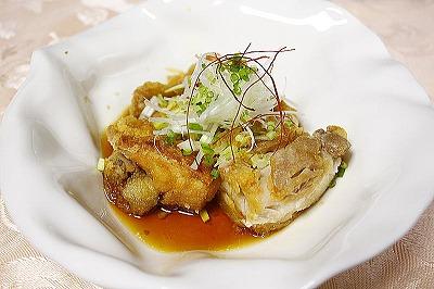 メープル黒酢油淋鶏