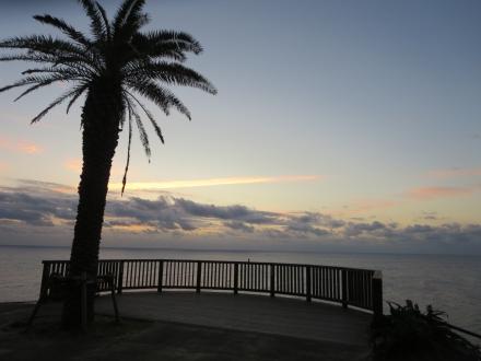 日向灘、海の道しるべ