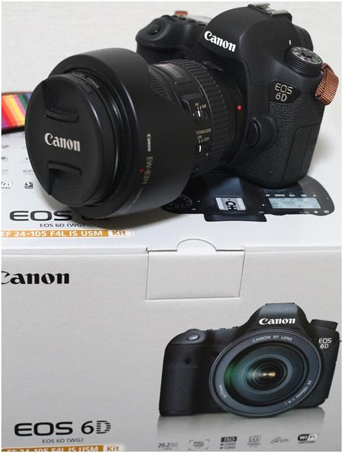カメラ6D