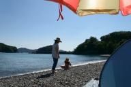 みそね浜で浜遊び#2