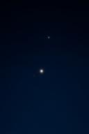 金星と木星 (2015-11-01 05:23)