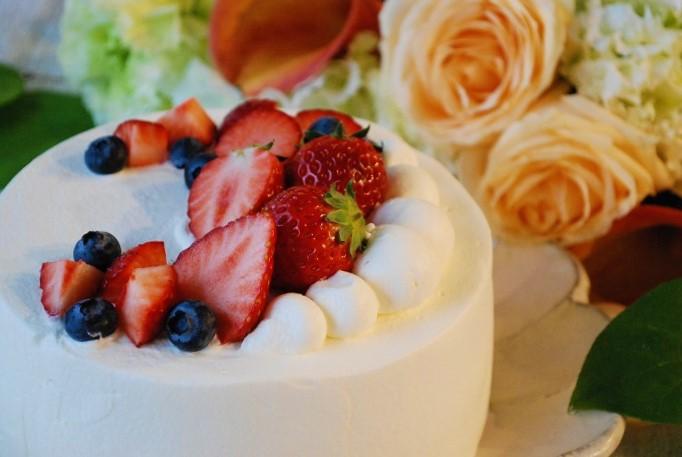 母の日イベント ショートケーキ