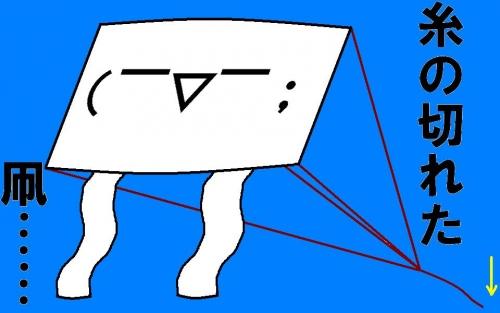 糸の切れた凧