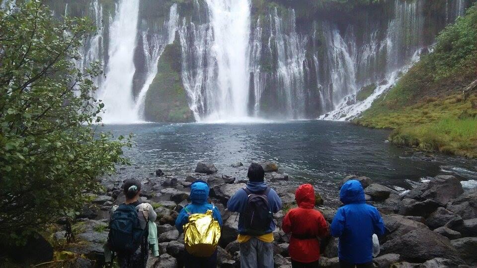 Bバーニーの滝