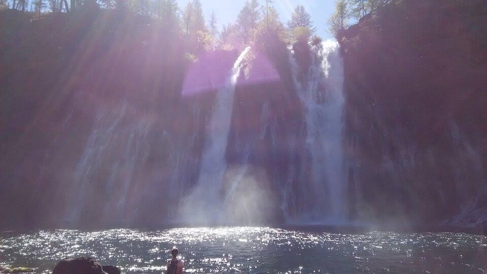 須和子さんバーニーの滝