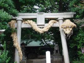 2016奥澤神社鳥居