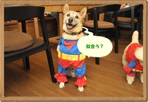 十兵衛スーパーマン笑顔