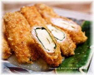 高野豆腐肉巻きフライ