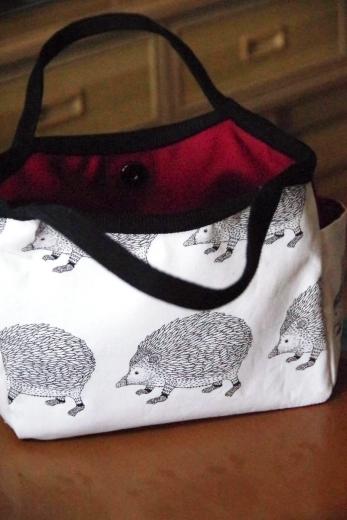ハリネズミのバッグ