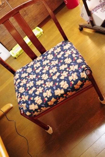 カリモクの椅子の手作りカバー