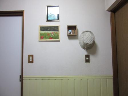 玄関帽子かけ6