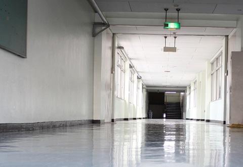 150827 学校の廊下
