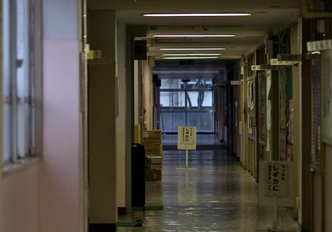 151210 学校の廊下