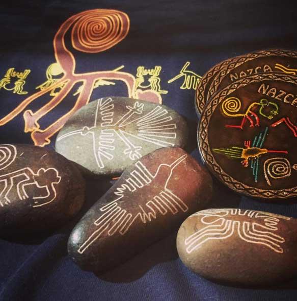 南米ペルー、ナスカの地上絵、天空都市マチュピチュ、インカ帝国の首都 クスコの雑貨