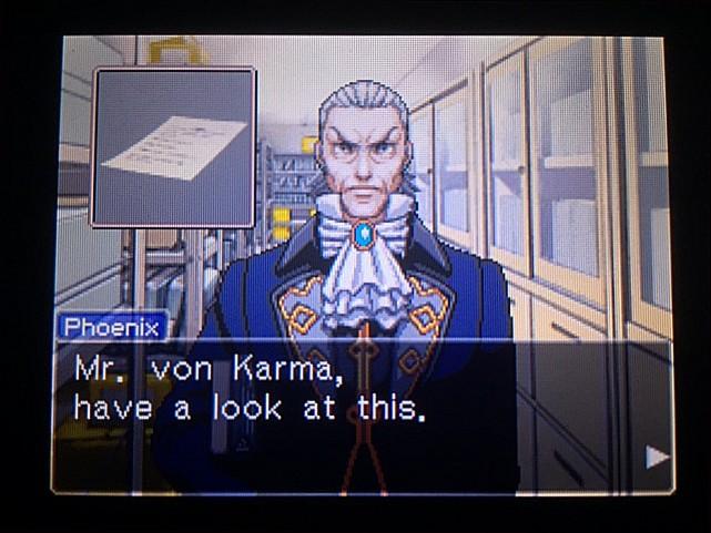 逆転裁判 北米版 マンフリート・フォン・カルマの正体3