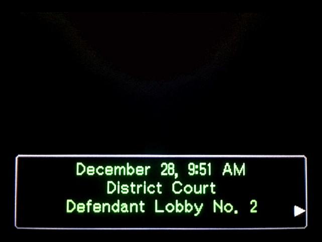 逆転裁判 北米版 審理最終日、控え室1