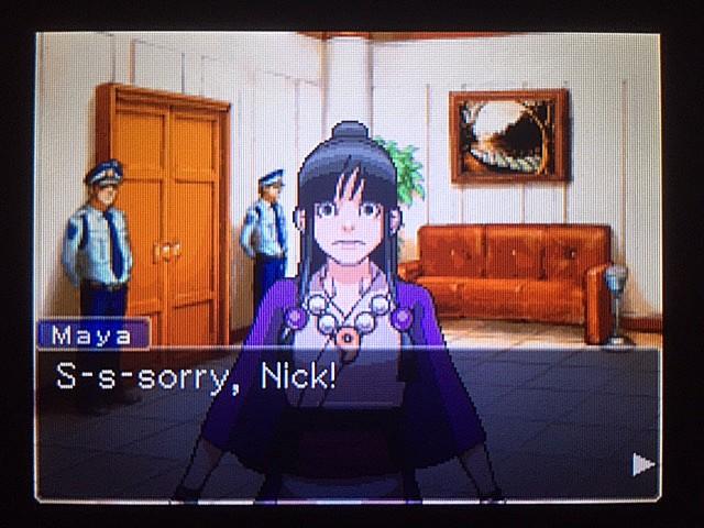 逆転裁判 北米版 審理最終日、控え室7