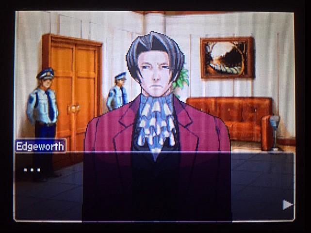 逆転裁判 北米版 審理最終日、控え室10