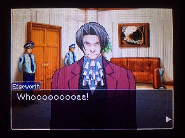 逆転裁判 北米版 審理最終日、控え室16