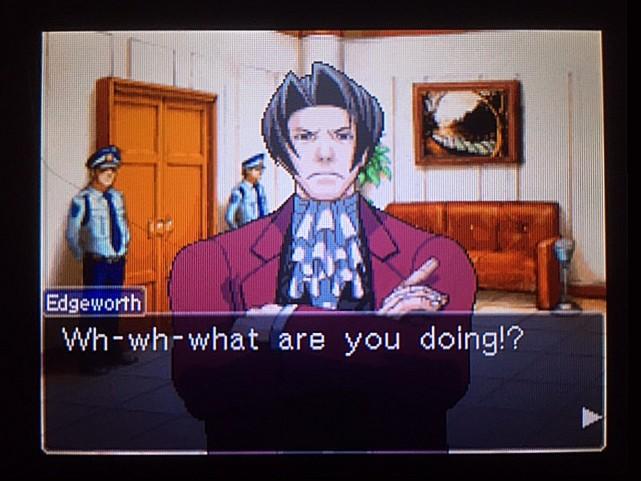 逆転裁判 北米版 審理最終日、控え室17