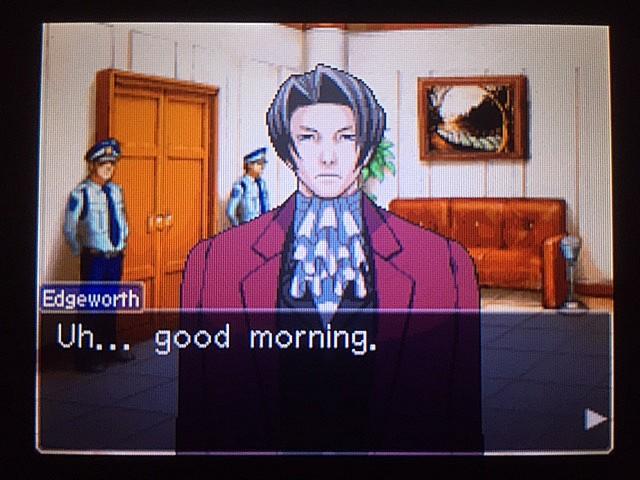 逆転裁判 北米版 審理最終日、控え室29
