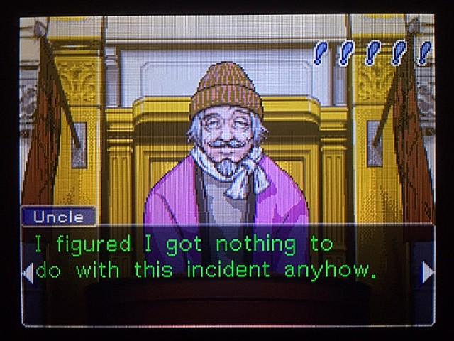 逆転裁判 北米版 管理人証言、何故行方を晦ましたのか9