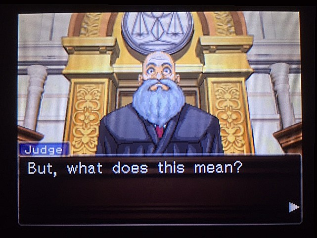 逆転裁判 北米版 管理人の本当の名前19