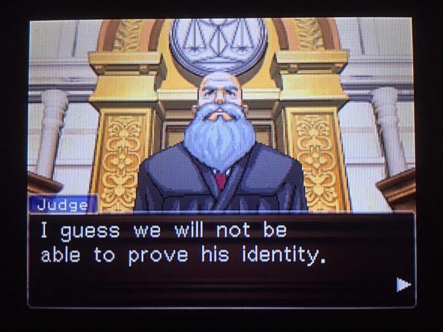 逆転裁判 北米版 管理人の正体の証明はどうするか?11