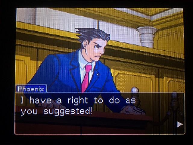 逆転裁判 北米版 オウム入廷5