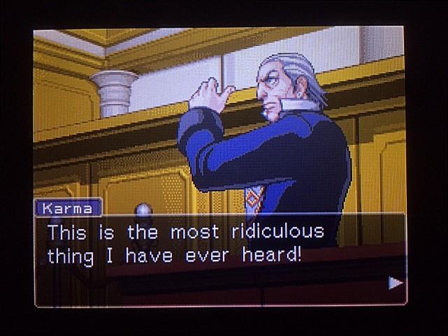 逆転裁判 北米版 オウム入廷18