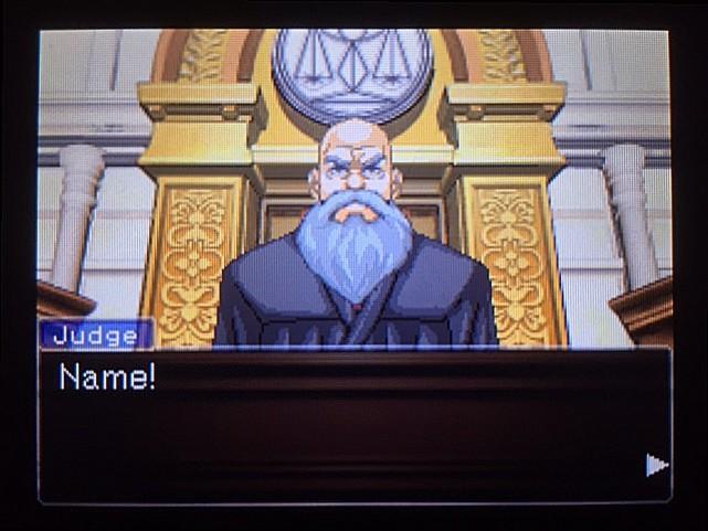 逆転裁判 北米版 オウム入廷25