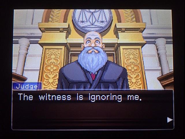 逆転裁判 北米版 オウム入廷27