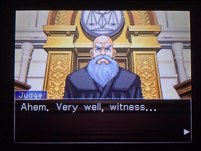 逆転裁判 北米版 オウム入廷29