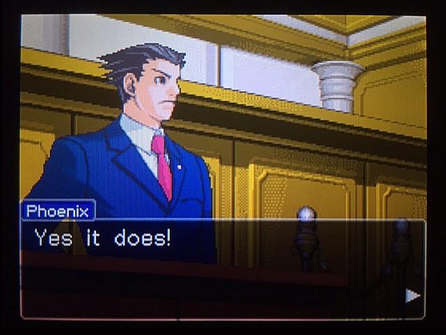 逆転裁判 北米版 オウムのポリーの証言と反対尋問22