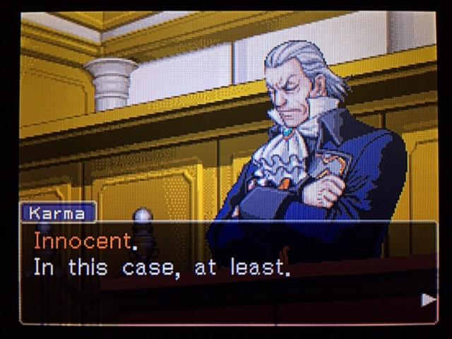 逆転裁判 北米版 エッジワースへの無罪判決!だが…4