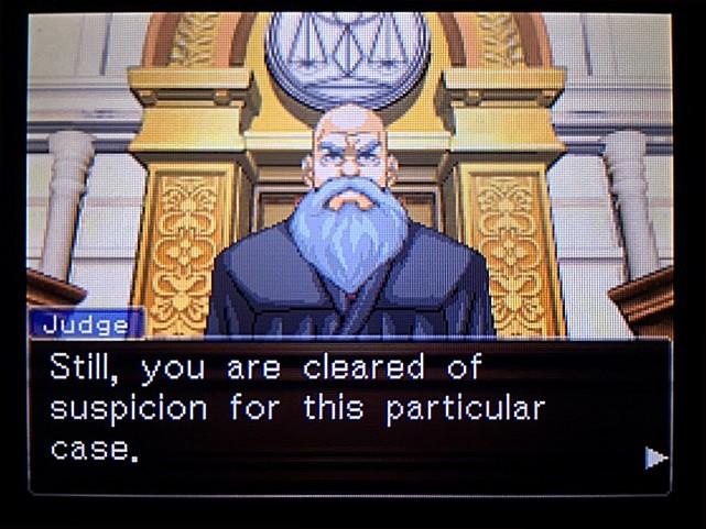 逆転裁判 北米版 エッジワースへの無罪判決!だが…9