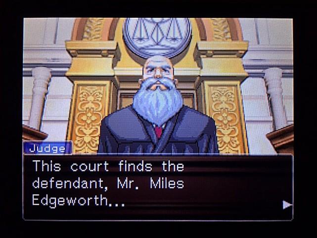 逆転裁判 北米版 エッジワースへの無罪判決!だが…17
