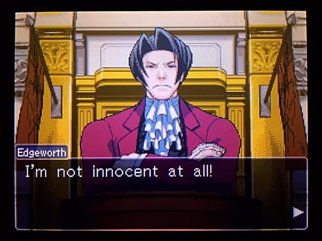 逆転裁判 北米版 エッジワースへの無罪判決!だが…31
