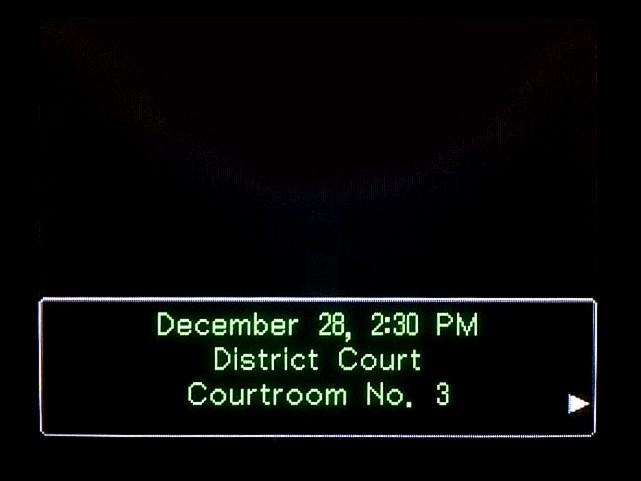 逆転裁判 北米版 DL-6法廷、開廷1