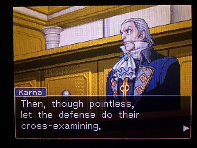 逆転裁判 北米版 DL-6法廷、開廷5