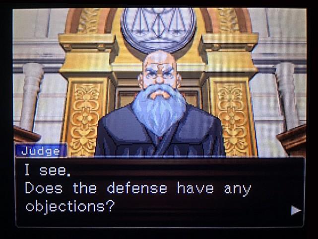 逆転裁判 北米版 DL-6法廷、開廷6