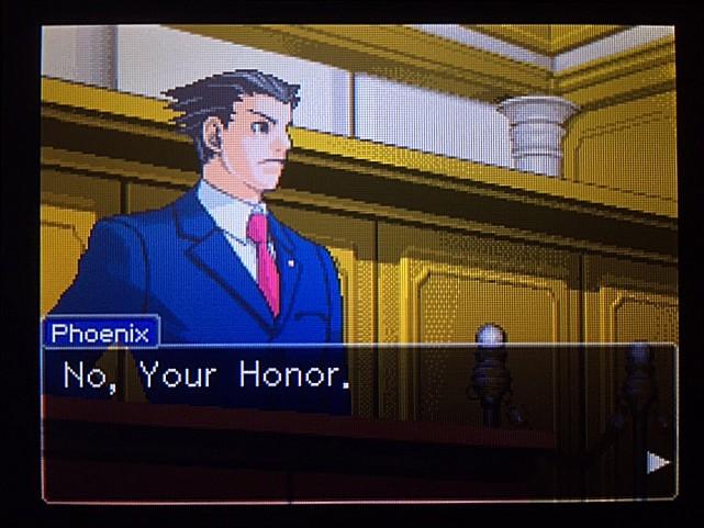 逆転裁判 北米版 DL-6法廷、開廷7