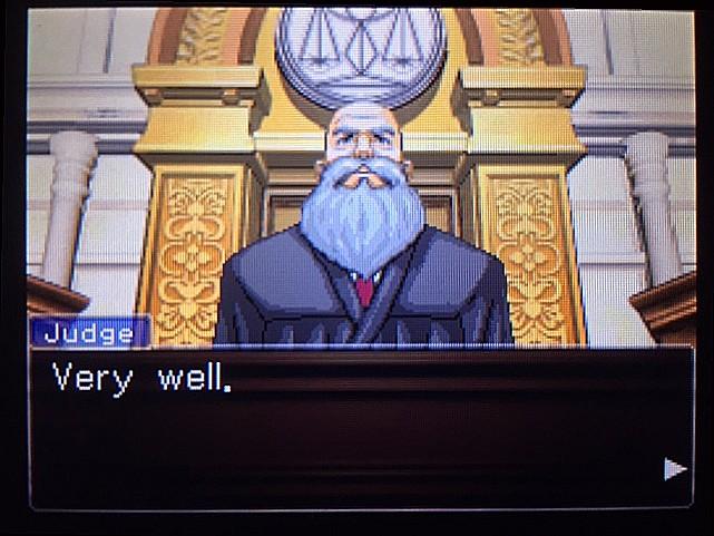 逆転裁判 北米版 DL-6法廷、開廷8