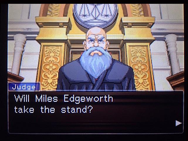 逆転裁判 北米版 DL-6法廷、開廷9